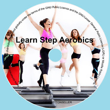 LEARN STEP AEROBICS WORKOUT FITNESS DVD - BASIC EXERCISE TUTORIAL