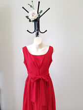 ✿♡ 'Friends of Couture' Womens Dress Size 10 (Red Bow Classic Evening) ♡✿