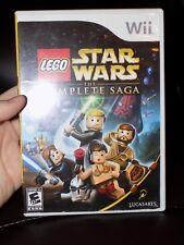 LEGO Star Wars: The Complete Saga (Nintendo Wii, 2007)NO BOOK EUC