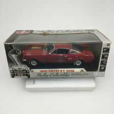 Shelby Collectibles 1966 Shelby GT350H Die Cast 1/18 Scale Red Gold Stripes