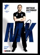 Matthias Kaltenbach Autogrammkarte TSG Hoffenheim 2017-18 Original Sign+A 170912