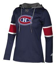 "Montreal Canadiens Women's NHL Adidas ""Crewdie"" Pullover Hooded Sweatshirt"