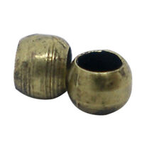 1000 PCs Bronze Color Beads 2mm Findings A4C7