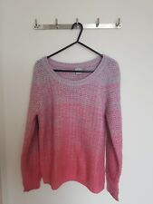 ASOS Pink and Purple Ombre Sweater in Size US 6