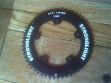 NOS 53 TOOTH STRONGLIGHT 9/10 SPEED TT  130BCD 7075 ALLOY CHAINRING