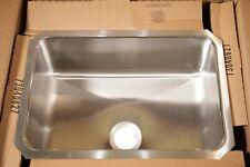 "ELKAY 16"" x 24"" LUSTERTONE Single Bowl Undermount Stainless Steel Kitchen Sink"