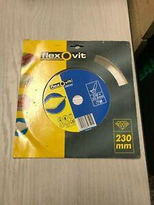 Flexovit Continuous Rim Diamond Blade - 230mm  (20)