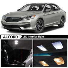 16x White Interior LED Lights Package Kit for 2013-2017 Honda Accord + TOOL