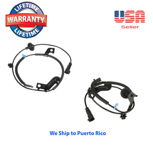 2 ABS Wheel Speed Sensor Rear Right and Left Fit Caliber Compass Patriot for 4WD