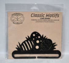 Classic Motifs 6 Inch Easter Eggs Craft Holder