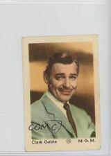 1950 1950s Dutch Gum Number in Circle #35 Clark Gable Non-Sports Card 0w6