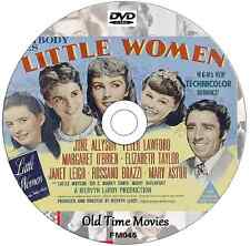 Little Women Elizabeth Taylor, Janet Leigh, June Allyson, Peter Lawford 1949 DVD