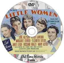 Little Women Elizabeth Taylor, Janet Leigh, June Allyson, Peter Lawford 1949 DVD