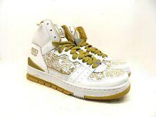 AVIA Men's 20th Anniversary 830 Retro Basketball Shoe White/Gold Size 11M