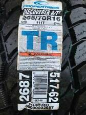 NEW Cooper Discoverer AT3 255/70R16 111W TR