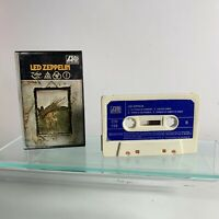 LED Zeppelin iV Cassette Tape Spanish 1976 Rare Blue Paper Label