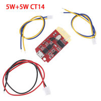 5W+5W CT14 micro 4.2 stereo bluetooth power amplifier 'module with charging .z