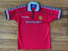 Manchester United 1998-2000 Vintage Beckham Shirt Age 10/11