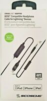 Lightning jack Cable for Bose Quiet Comfort QC25 QC35 iphone X iphone 8 / 8plus