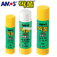 AMOS Non-Toxic, Clean, Washable Glue Sticks 35g