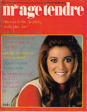 MLLE AGE TENDRE N° 61 DEC 1969 SHEILA BEATLES MOUSTAKI GALL BARBARA STREISAND