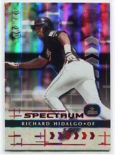 2001 Absolute Memorabilia Spectrum 101 Richard Hidalgo 7/10