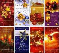 100 Weihnachtskarten Glückwunschkarten Weihnachten 226510 SA