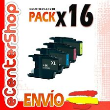 16 Cartuchos LC1240 NON-OEM Brother MFC-J430W / MFCJ430W 24H