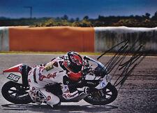Louis Rossi APRILIA 125cc signé photo 5x7 2011.
