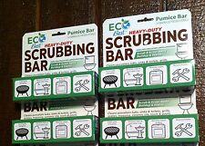 Heavy Duty Pumice Bar Multi Use scrub/scour EcoBest qty 4 NEW