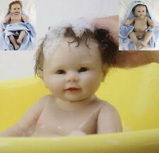 "20"" Vinile Doll Lifelike Reborn Baby boy Vinyl Kid playmate Bambole rinascere TO"