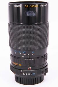 KIRON 35-135 f/3.5-4.5 for Minolta MD with fault Professionally checked