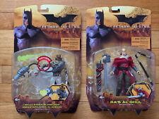New listing Mattel Dc Batman Begins 2005 Action Figure Scarecrow & Ra's Al Ghul - New