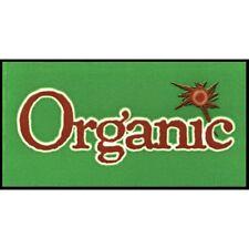 Shelf Decal Organic Shelf Label Clear Vinyl - 2 5/8 L x 2 3/8 H 1200 Per Pack