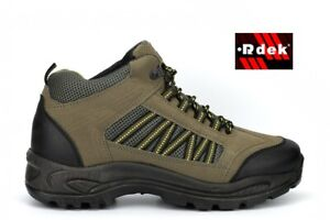 Mens Hiking Boots Mens Walking Lace Up Shoes Ankle Boots Trekking Boots Size