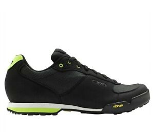 Giro Petra VR Women's Cycling Shoes Black / Lime Size W 7.5 New In Box!!