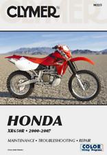 Clymer Workshop Manual Honda XR650R 2000-2007 Service Repair
