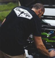 Low Life T-Shirt - Air Bag Air Ride Mens Shirt Lowered Cars Stance Low Rider