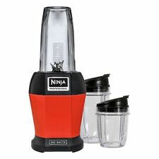 Brand New Ninja BL451R Nutri Ninja Pro Deluxe Blender, Red