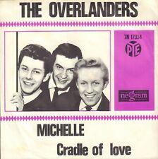"OVERLANDERS, THE – Michelle (1966 VINYL SINGLE 7"" HOLLAND / BEATLES SONG)"