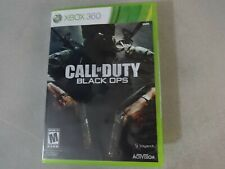 Call Of Duty Black Ops Microsoft Xbox 360 Game Complete Free Ship