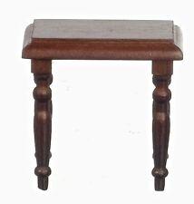 Walnut Side Table, Dolls House Miniature