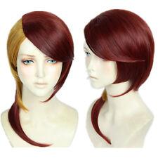 Land of the Lustrous Houseki no Kuni Rutile Amber Yellow Dark Red Cosplay Wig