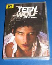 Teen Wolf: Season One (SEALED DVD) Posey, P'Brien, Hoechlin, Reed, Haynes, Roden