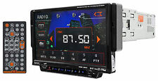 SSL SD702 Single-Din In Dash Touchscreen DVD Car Receiver w. USB/SD/AUX+Remote