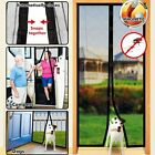 Hands Free Magic Mesh Screen Net Door with magnets Anti Mosquito Bug Curtain GX