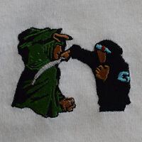 Liquid Swords Vintage Hip Hop Embroidered Tee T-shirt by Actual Fact