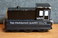 2003 Thomas The Train Wooden Railway Mavis Black Ffarquhar Quarry Engine