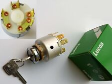Lucas 31912, SPB501, 47SA Ignition Switch 127651 for MGB Midget Triumph TR GT6.