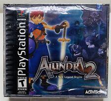 Alundra 2 (Sony PlayStation 1, PS1, 2000) BRAND NEW! FAST SHIPPING!